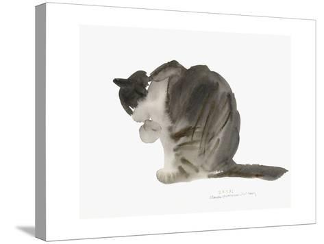 Cat, 1985-Claudia Hutchins-Puechavy-Stretched Canvas Print