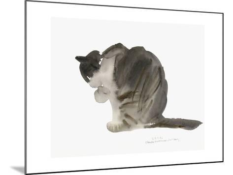 Cat, 1985-Claudia Hutchins-Puechavy-Mounted Giclee Print