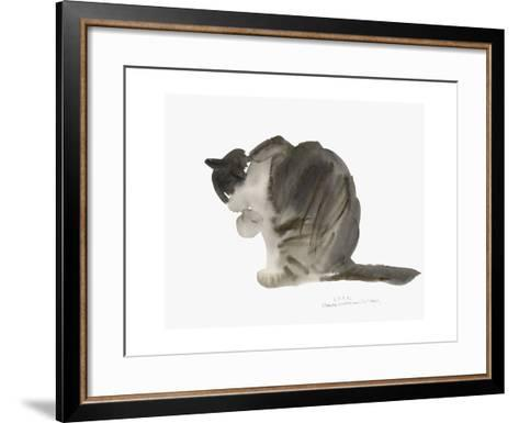 Cat, 1985-Claudia Hutchins-Puechavy-Framed Art Print