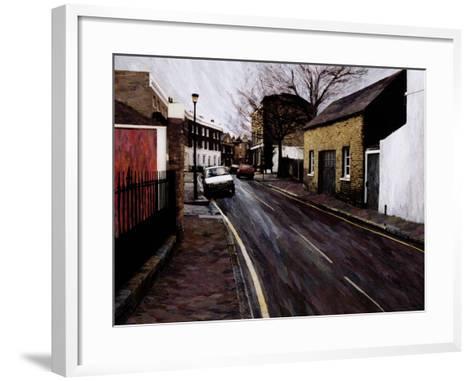 Circus Street (Next to the Cheeseboard), 2000-Ellen Golla-Framed Art Print