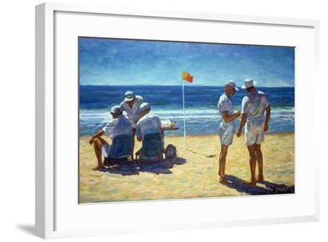 Judges at the Lifesaving Carnival, 1993-Ted Blackall-Framed Art Print