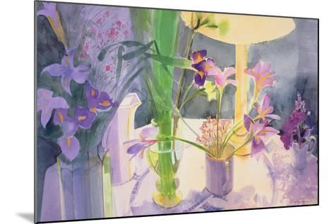 Winter Iris-Claire Spencer-Mounted Giclee Print