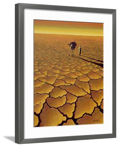 Saharan Journey, 1995-Tilly Willis-Framed Art Print