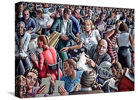 Deadline-P.J. Crook-Stretched Canvas Print