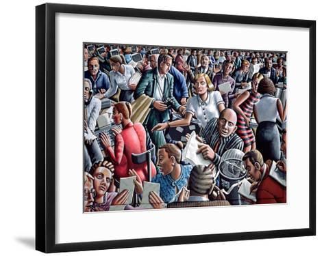 Deadline-P.J. Crook-Framed Art Print