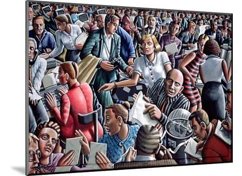 Deadline-P.J. Crook-Mounted Giclee Print
