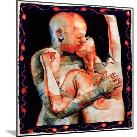 The Kiss, 1987-Graham Dean-Mounted Giclee Print