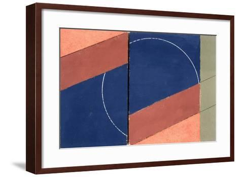 Painting - Interrupted Circle, 2000-George Dannatt-Framed Art Print