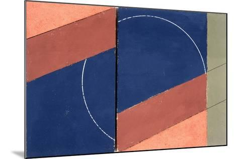 Painting - Interrupted Circle, 2000-George Dannatt-Mounted Giclee Print