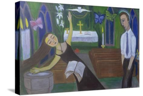 Religious Experience, 2002-Roya Salari-Stretched Canvas Print