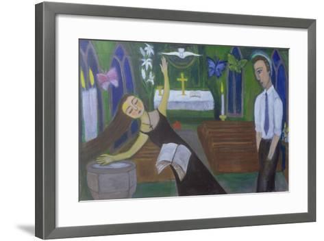 Religious Experience, 2002-Roya Salari-Framed Art Print