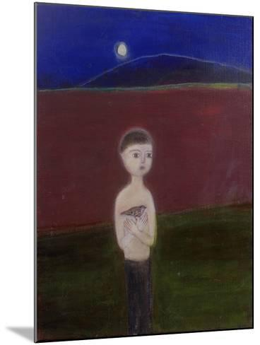 Boy in the Moonlight, 2002-Roya Salari-Mounted Giclee Print