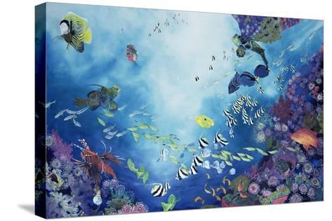 Underwater World III, 2002-Odile Kidd-Stretched Canvas Print