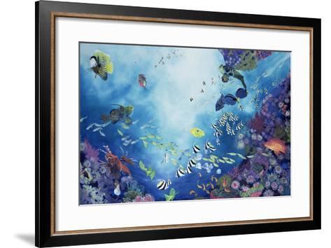 Underwater World III, 2002-Odile Kidd-Framed Art Print