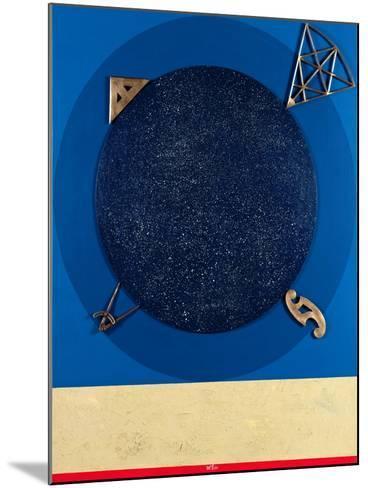 Misuratore, 1999-Lucio Del Pezzo-Mounted Giclee Print