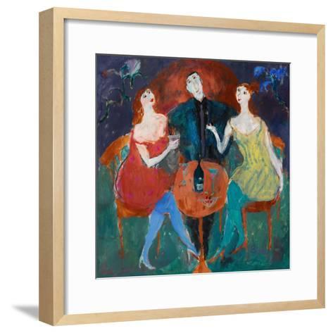 Ladies' Man, 2004-Susan Bower-Framed Art Print