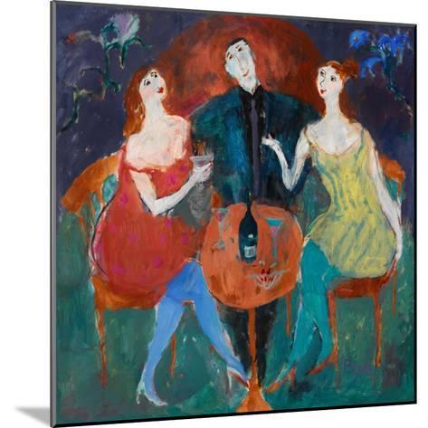 Ladies' Man, 2004-Susan Bower-Mounted Giclee Print