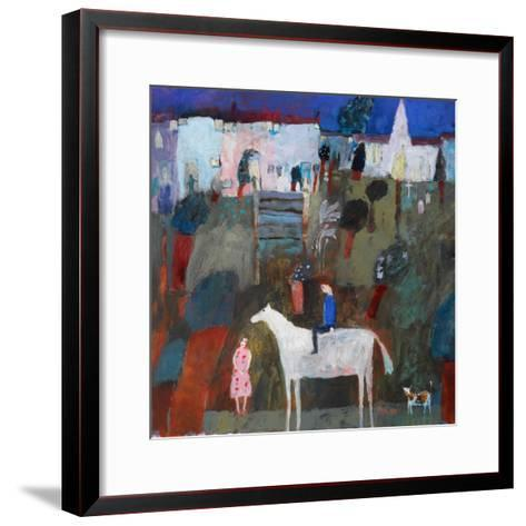 In Shining Armour, 2004-Susan Bower-Framed Art Print