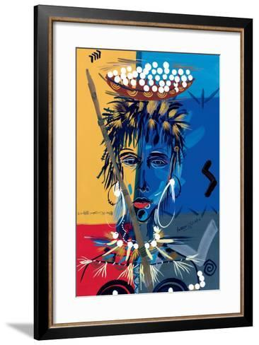 African Beauty 1, 2004-Oglafa Ebitari Perrin-Framed Art Print