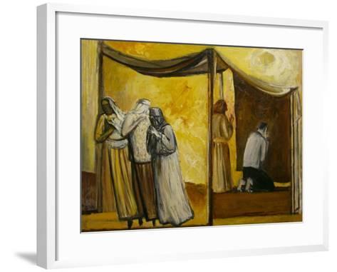 Abraham Praying-Richard Mcbee-Framed Art Print