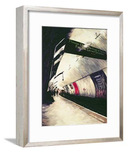 Please Check the Front of the Train... 1998-Ellen Golla-Framed Art Print