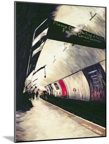Please Check the Front of the Train... 1998-Ellen Golla-Mounted Giclee Print