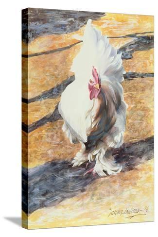Warpath, 1986-Sandra Lawrence-Stretched Canvas Print