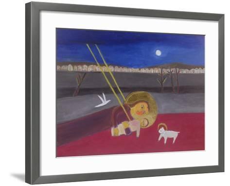 Mother and Child at Mazar, 2002-Roya Salari-Framed Art Print