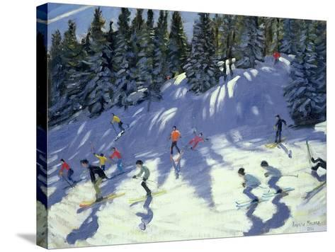 Fast Run, 2004-Andrew Macara-Stretched Canvas Print
