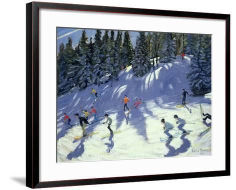 Fast Run, 2004-Andrew Macara-Framed Art Print