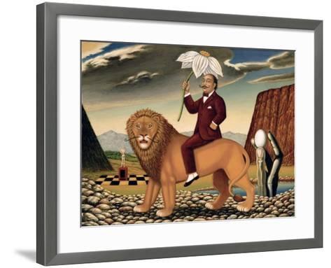 The Metamorphosis of a Narcissist, 1999-Frances Broomfield-Framed Art Print