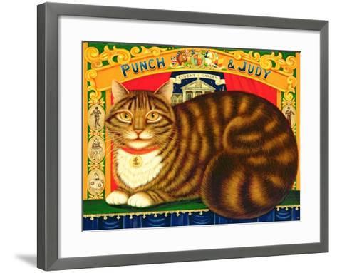 Muffin, the Covent Garden Cat, 1996-Frances Broomfield-Framed Art Print