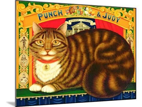Muffin, the Covent Garden Cat, 1996-Frances Broomfield-Mounted Giclee Print