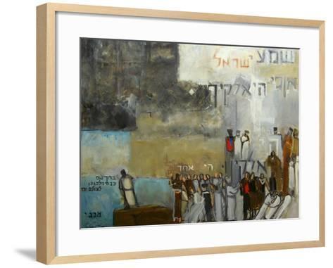 Sh'ma Yisroel, 2000-Richard Mcbee-Framed Art Print