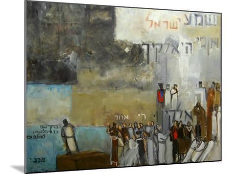 Sh'ma Yisroel, 2000-Richard Mcbee-Mounted Giclee Print