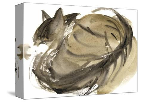 Sleeping Cat, 1985-Claudia Hutchins-Puechavy-Stretched Canvas Print