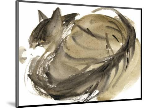 Sleeping Cat, 1985-Claudia Hutchins-Puechavy-Mounted Giclee Print