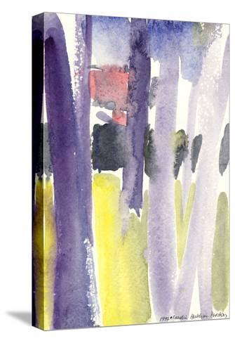 Trees in a Garden, 1997-Claudia Hutchins-Puechavy-Stretched Canvas Print