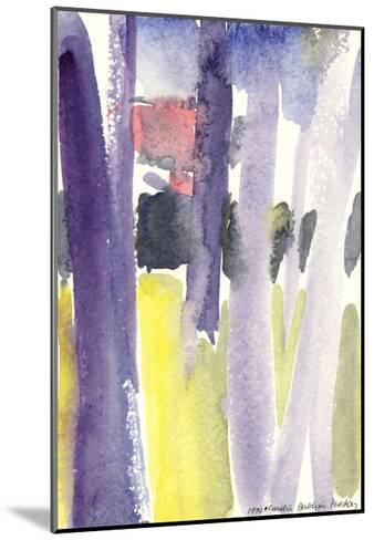 Trees in a Garden, 1997-Claudia Hutchins-Puechavy-Mounted Giclee Print