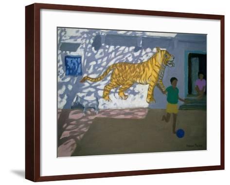 Tiger, India-Andrew Macara-Framed Art Print
