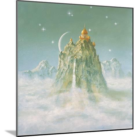 Temple in the Mountain-Simon Cook-Mounted Giclee Print