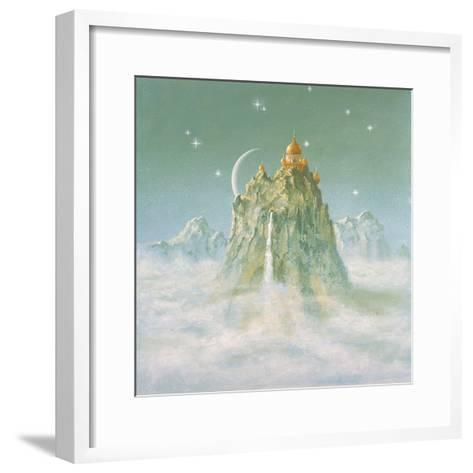 Temple in the Mountain-Simon Cook-Framed Art Print