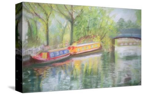 Little Venice, Regent's Canal, 1996-Sophia Elliot-Stretched Canvas Print