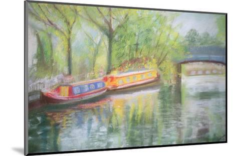 Little Venice, Regent's Canal, 1996-Sophia Elliot-Mounted Giclee Print