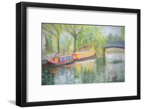Little Venice, Regent's Canal, 1996-Sophia Elliot-Framed Art Print