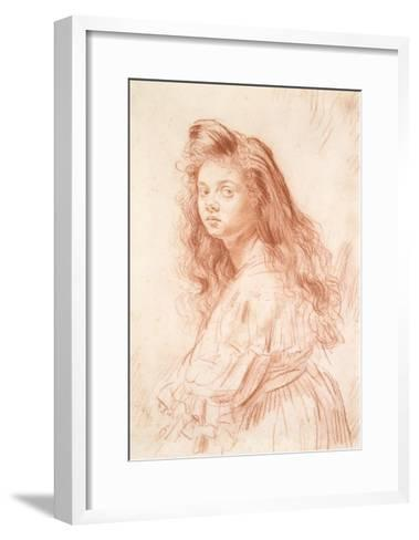 Cecily Beresford Hope-Augustus Edwin John-Framed Art Print