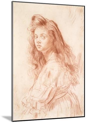 Cecily Beresford Hope-Augustus Edwin John-Mounted Giclee Print