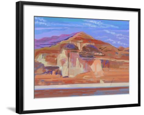 Painted Cliffs, Lake Powell-Howard Ganz-Framed Art Print