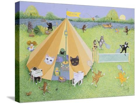 Holiday Camp-Pat Scott-Stretched Canvas Print