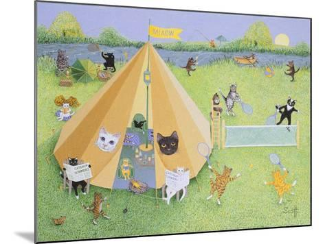 Holiday Camp-Pat Scott-Mounted Giclee Print